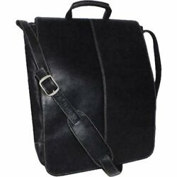 Royce Messenger Bags Leather 17 Inch Colombian Laptop Bag Black One Size