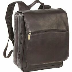 David Messenger Bags King Co. Large Computer Flapover Backpack Cafe One Size