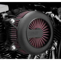 Vance And Hines Vo2 Rogue Air Cleaner Intake For Harley Twin Cam -see Desc. Black