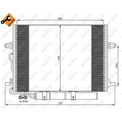 NRF Condenser, air conditioning EASY FIT 35517
