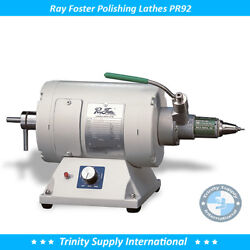 Ray Foster Variable Speed Lathe Pr92 With Chuck Dental Lab Quality And Durability