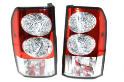 Land Rover Lr4 / Discovery 4 10-13 Rear Tail Lamps W/ Side Markers Rh And Lh Set