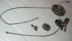Ignition Throttle control Cable system Lot Johnson 25hp RD-13 Outboard Motor