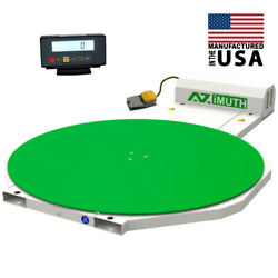 New Scale Pallet Wrapper Stretch Shrink Wrapper Turntable 59 Azimuth-300