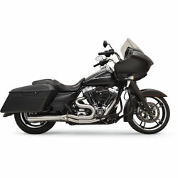 Bassani Road Rage Iii 21 Exhaust System For 1995-2006 Harley Touring Stainless