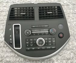 2007-2009 NISSAN QUEST RADIO CLIMATE CONTROL SHIFTER BEZEL W VENTS OEM