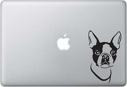 Boston Terrier Nice nice silhouette Decal sticker car truck laptop 5