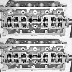 2 Ford Expedition F150 4.6 Sohc Cylinder Heads Cast Rff5ae 98-99 Reman No Core