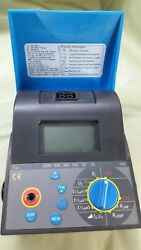Metrel Mi 2120 Digital Loop Rcd Line Tester Smartec Without Cable Or Accessories