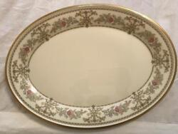 Lenox Castle Garden 16 Inch Oval Platter New Discontinued