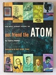 Our Friend the Atom SIGNED by Walt Disney  8th Printing  1961