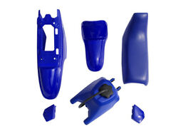 Yamaha Pw50 Py50 Front Rear Fender + Seat + Fuel Tank Motorcycle Parts Blue