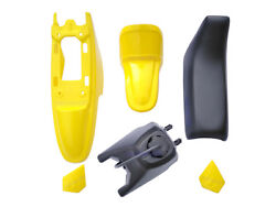 Yamaha Pw50 Py50 Front Rear Fender + Seat + Fuel Tank Motorcycle Parts Yellow