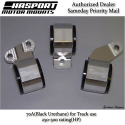 Hasport For 88-91 Honda Civic/crx D-series Obd0 Stock Replacement Mount Kit 70a