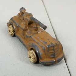 1930's Barclay Manoil Lead Military Aa Cannon Truck Vehicle 38. 41c