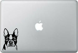 Beautiful Boston Terrier for Laptop car truck laptop decal sticker 5