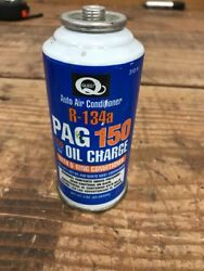 R-134a Refrigerant PAG 150 Oil Charge Auto Air Conditioner 3oz. *FREE SHIP*