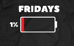 FRIDAY 1% BATTERY WEEKEND OLDSKOOL T-SHIRT* MANY SIZES AND COLORS