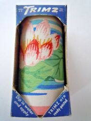 VINTAGE TRIMZ BORDER FOR PAINTED WALLS LILY PAD