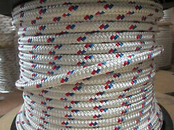 Anchor Line Dock Line 9/16 X 100and039 Double Braid Polyester Made In Usa