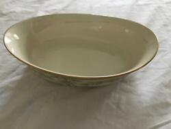 Lenox Castle Garden Oval Vegetable Bowl New Discontinued