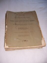 Atlas To Accompany The Official Records Of The Union And Confederate Armies 1891