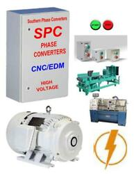 Southern Phase Converters in Texas-- 100 Hp Industrial Rotary Phase Converter