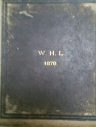 1879 2 Photo Albums By Composer William H Longhurst Cathedrals Castles Churches
