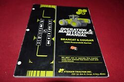 Stieger Bearcat And Cougar Powershift Tractor Operator's Manual Yabe15
