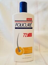 FOLICURE Shampoo quot; Extra quot; for FullerThicker Hair 23.6 fl oz. 80% Less Falling