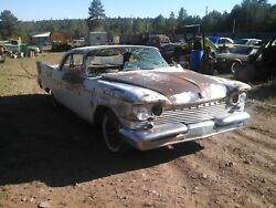 Chrysler Windsor New Yorker 2 Door HT Builder Parts 1959 Only