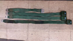 Used 1970 Chevy Nova Deluxe Seat Belt Receivers And Buckles