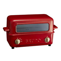 Bruno Toaster Grill Oven Red Bbq Cookware Boe033-rd From Japan