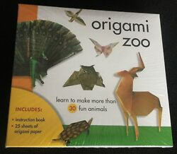 Sterling Publishing Origami Zoo Kit NEW SEALED Learn To Make 30 Fun Animals