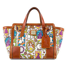 Dooney & Bourke Shopper Tote Disney's Beauty and the Beast Small womens purse