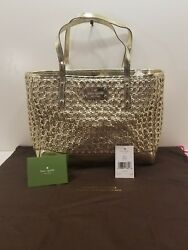 AUTHENTIC RARE KATE SPADE QUINN LIBERTY ISLAND GOLD 711 FREE SHIPPING