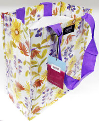 Gigi Hill Spring Wildflower Drug Store Med Grocery Tote Diaper Designer Bag