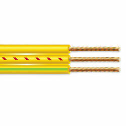 1000' 8/2 Flat Yellow Submersible Cable With Ground Well Pump Wire 600v