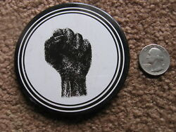 VINTAGE 1960's BLACK PANTHER PIN ... button ... equal rights ... activism ..