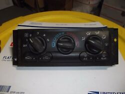 CHEVY VENTURE AC HEATER CLIMATE TEMPERATURE CONTROL REAR DEFROSTER AC FAN SPEED