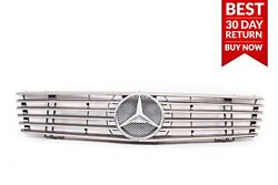 98-02 Mercedes R129 SL500 SL600 Front Bumper Grill Grille Mesh Cover Panel A37