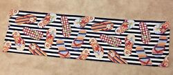 BEACH SANDALS Tapestry Valance 55quot; x 15quot;