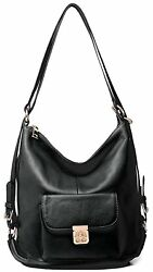 Heshe Leather Handbags Women Backpack Casual Shoulder Bags Daypack for Lady New