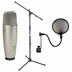Samson C01U Studio Recording Equipment Pro USB Condenser Microphone On Stage 15A