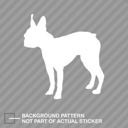 Boston Terrier Sticker Die Cut Decal Dog Canine