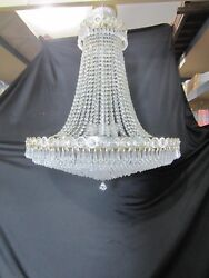 A. Schonbek And Co. Inc Luminaire Leaded Crystal Chandelier