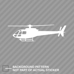 Airbus Eurocopter As350 Helicopter Sticker Die Cut Decal