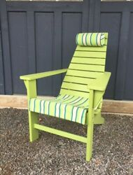 Outdoor New Hope Chair - Multiple Poly Lumber Colors - Amish Made In The Usa