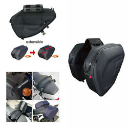Durable Oxford Cloth Motorcycle Saddle Bags Storage Waterproof Helmet Tank Bags