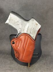 Ruger Lc9 Owb Leather Blade-tech Paddle Holster By Etw Holsters...hickory Nc